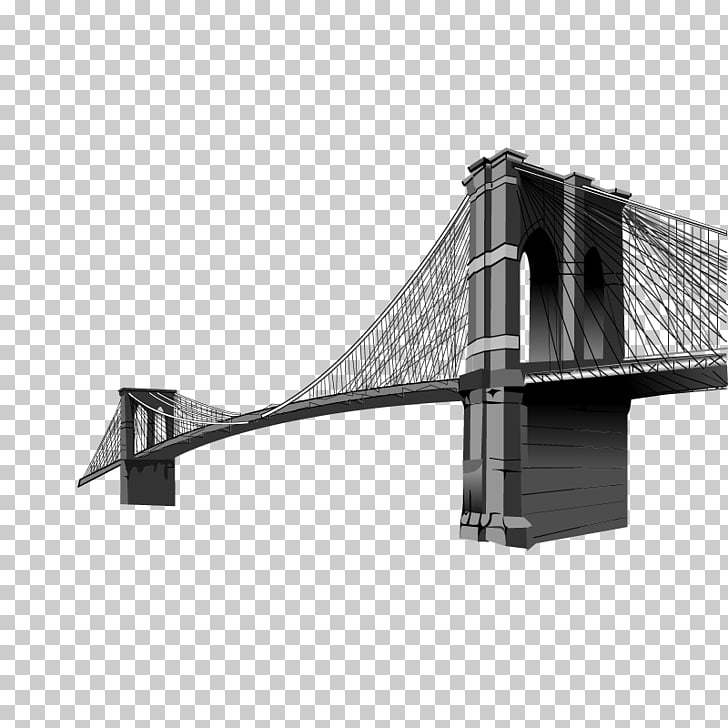 Brooklyn Bridge , Sola Bridge elements PNG clipart.