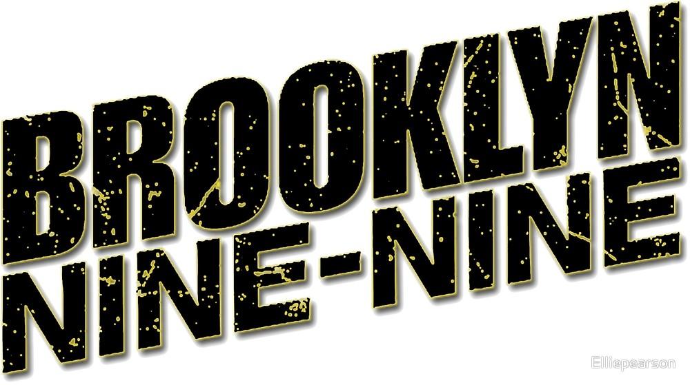 Brooklyn 99 Black Logo\