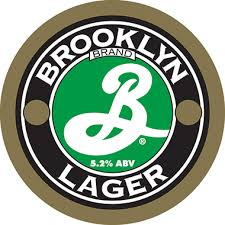 Lager from Brooklyn Brewery.