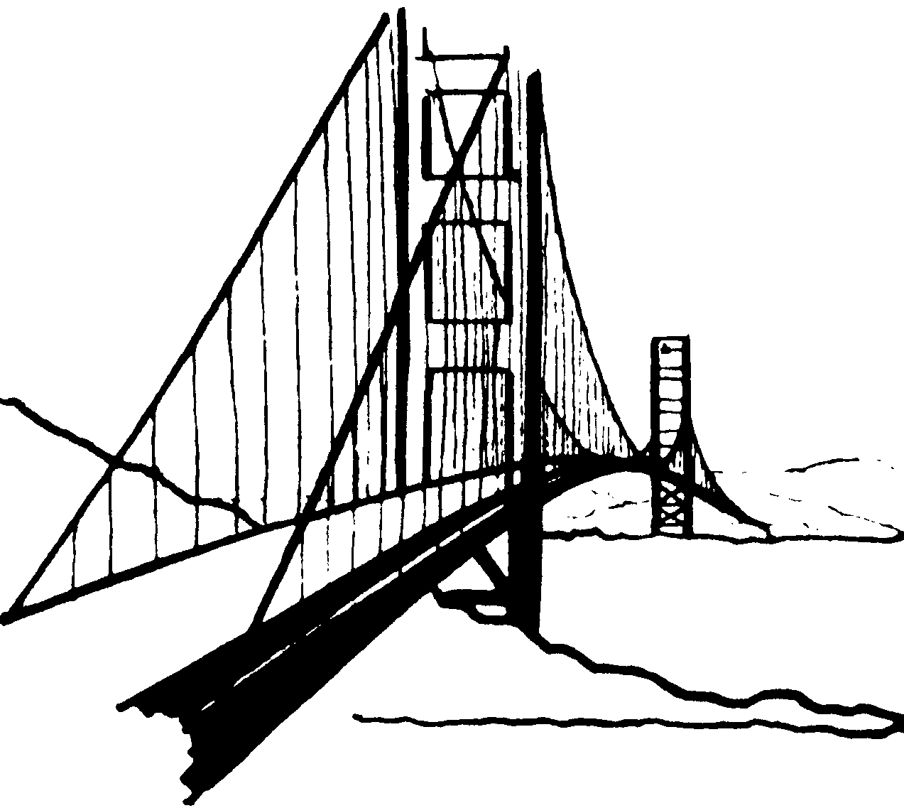 Brooklyn bridge only clip art at clker com vector clip art.