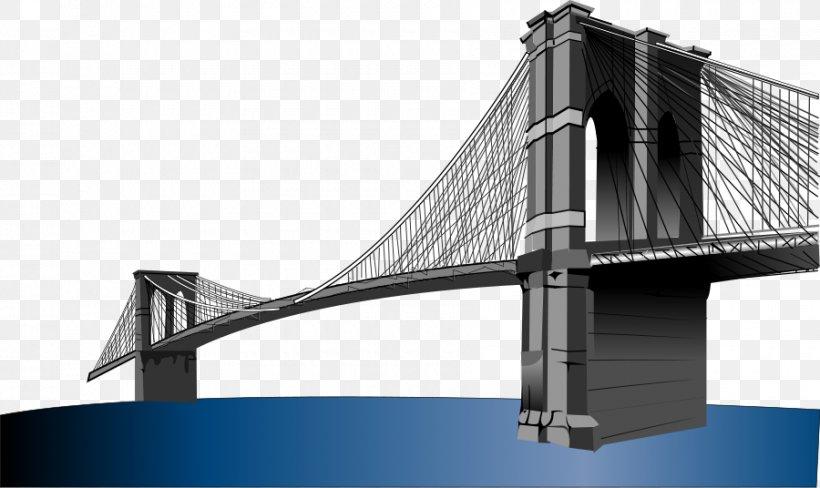 Brooklyn Bridge Bridge Realty Clip Art, PNG, 900x536px.
