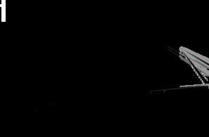 Brooklyn bridge black clip art at clker vector clip art.