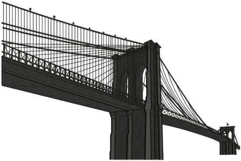 Brooklyn Bridge Transparent Images.