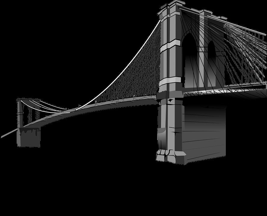 Brooklyn Bridge PNG Image.