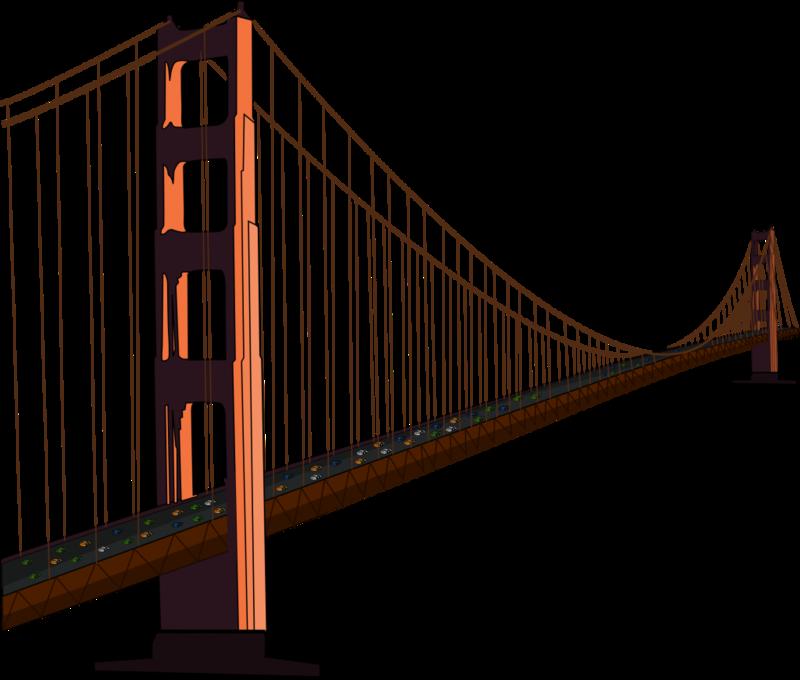 Download Free png Brooklyn Bridge PNG Transparent Image.
