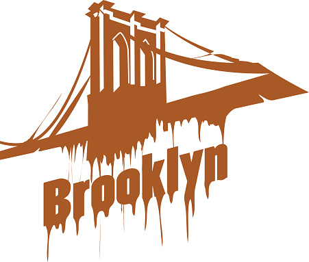Brooklyn Bridge Vector.
