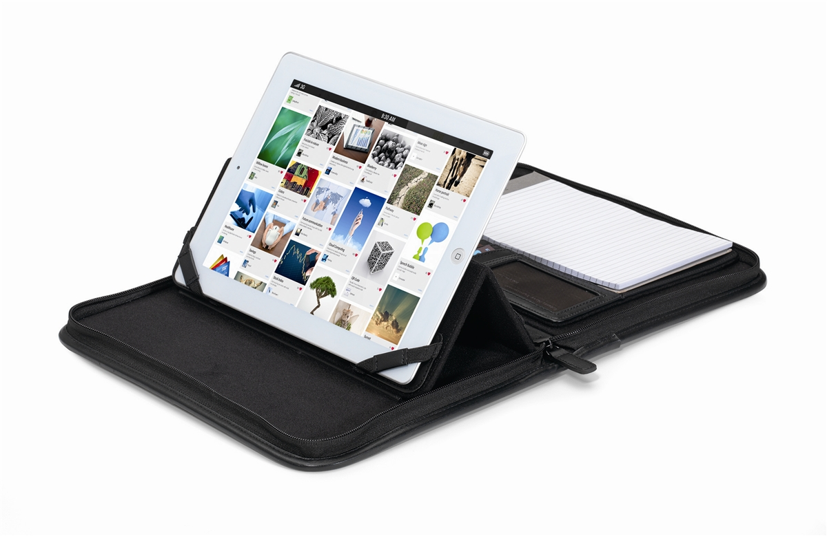 Brookstone Leather Tablet Stand E.