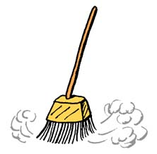 Broom Clip Art.