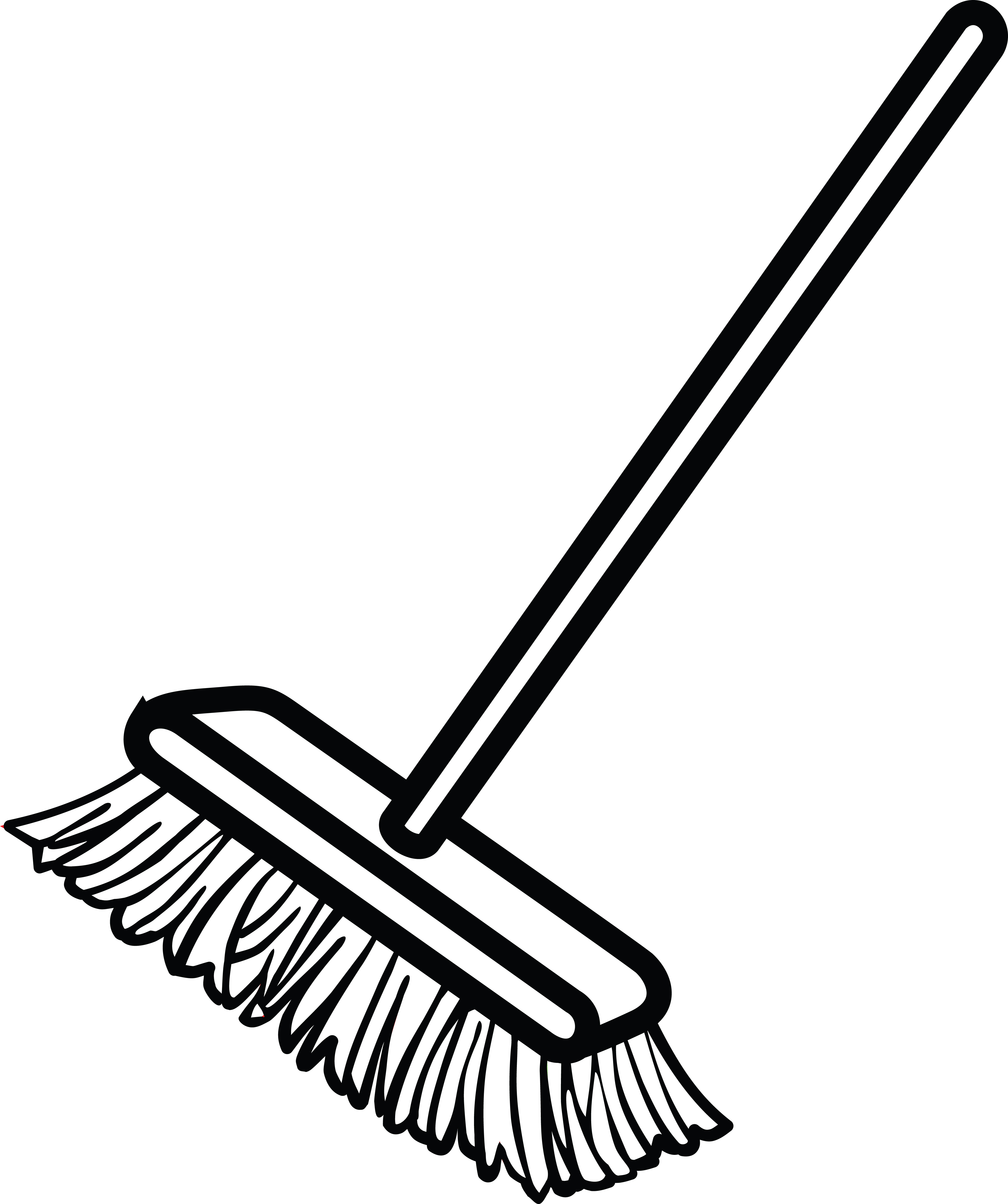 Clipart Of Broom.