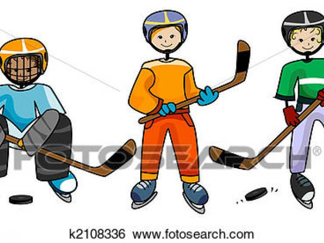 Broomball Cliparts 27.