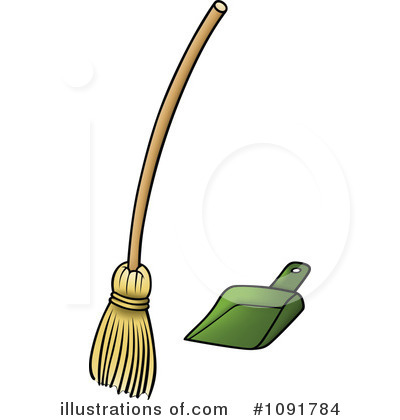 Broom Clipart #1091784.