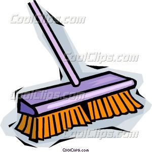 broom Vector Clip art.