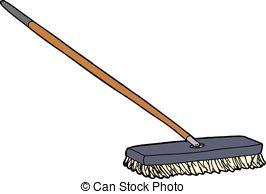 Push broom Clipart and Stock Illustrations. 145 Push broom vector.