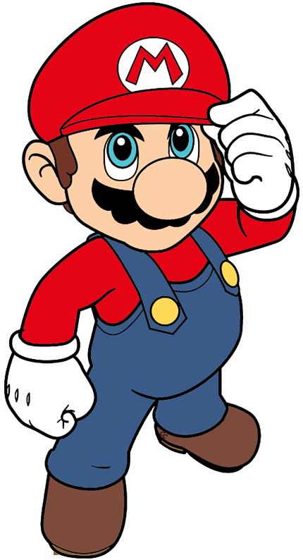 Super Mario Bros Clip Art Images.