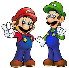 Super Mario Bros Clip Art.