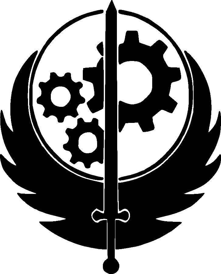 brotherhood of steel clipart