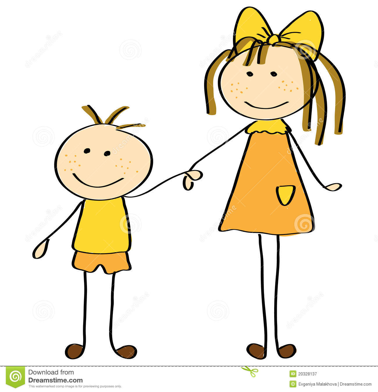 Brother And Sister Clipart.