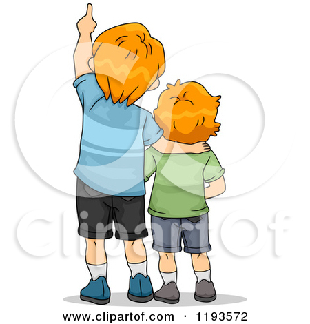Free Clip Art Illustrations of Brothers.