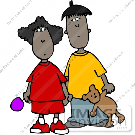 Two Brothers Clipart.