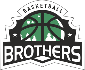 Basketball Brothers Logo Vector (.CDR) Free Download.