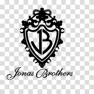 BRUSH JONAS BROTHERS LOGO NAME transparent background PNG.