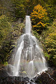 "Picture of ""Trusetal waterfall in autumn, Trusetal, Brotterode."