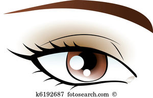 Eye brow Clipart and Illustration. 548 eye brow clip art vector.