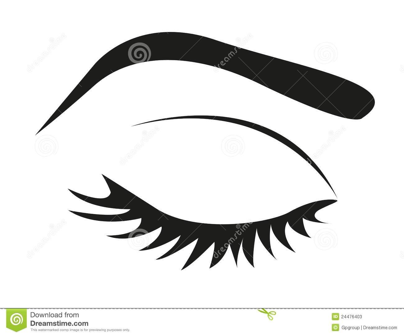Eyebrow Clipart.