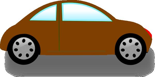 Car Brown Clipart.