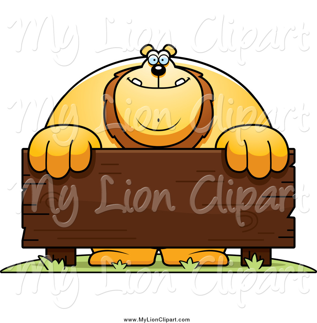 Royalty Free Cartoon Stock Lion Designs.