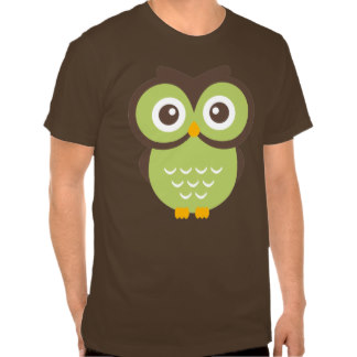 Green Owl Clipart.
