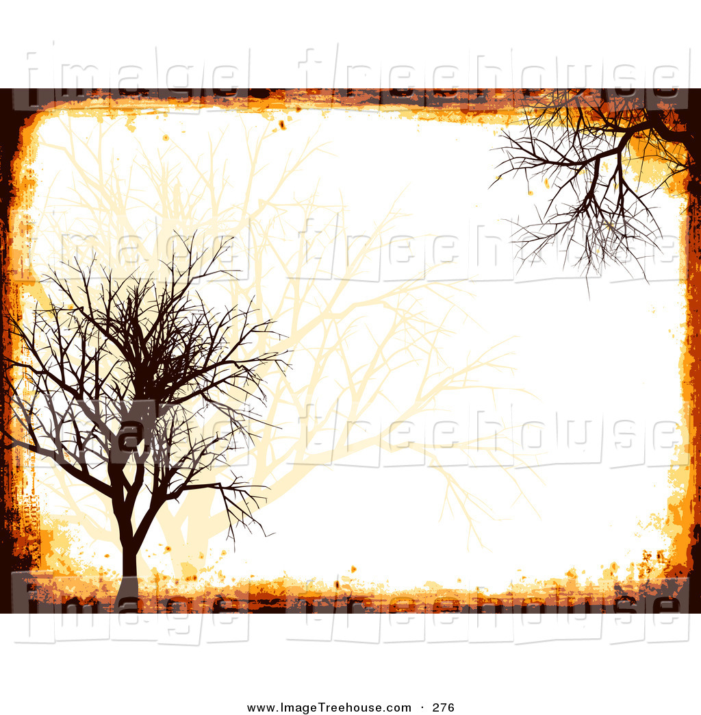 Tree pattern background clipart.