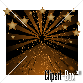 CLIPART BROWN STAR BACKGROUND.