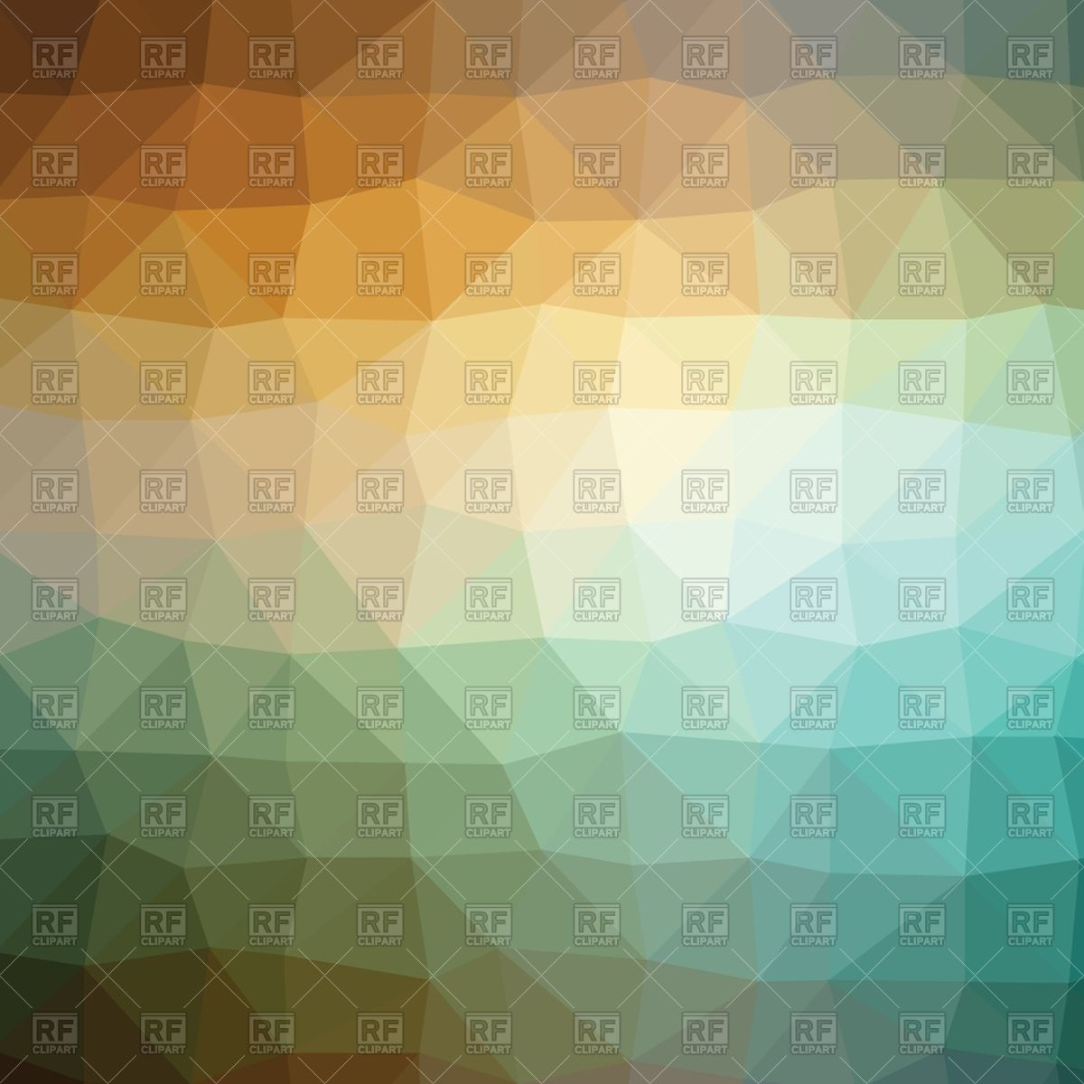 Polygonal abstract brown and blue background Vector Image #62179.