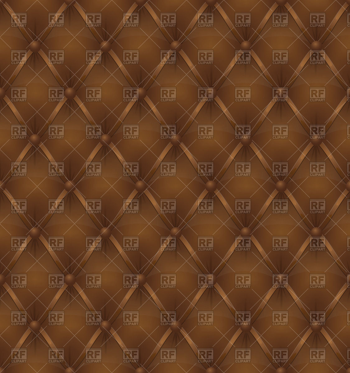 Seamless brown leather background Vector Image #66046.