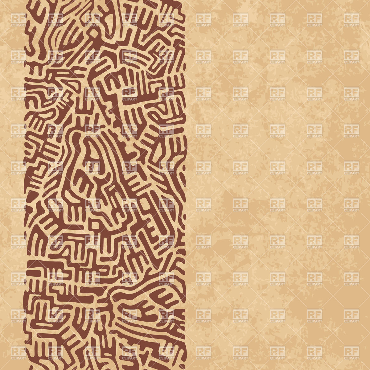 Abstract ethnic ornament.