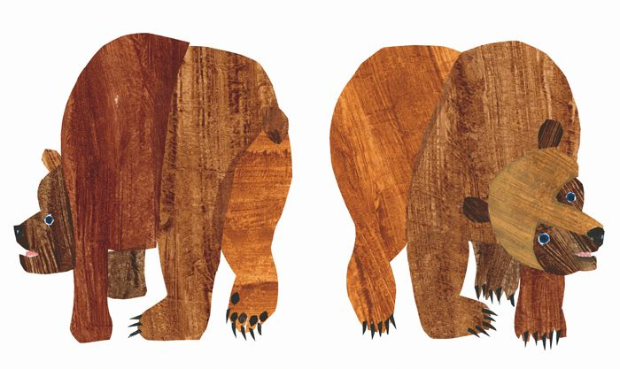 Eric Carle Book: Brown Bear, Brown Bear, What Do You See.