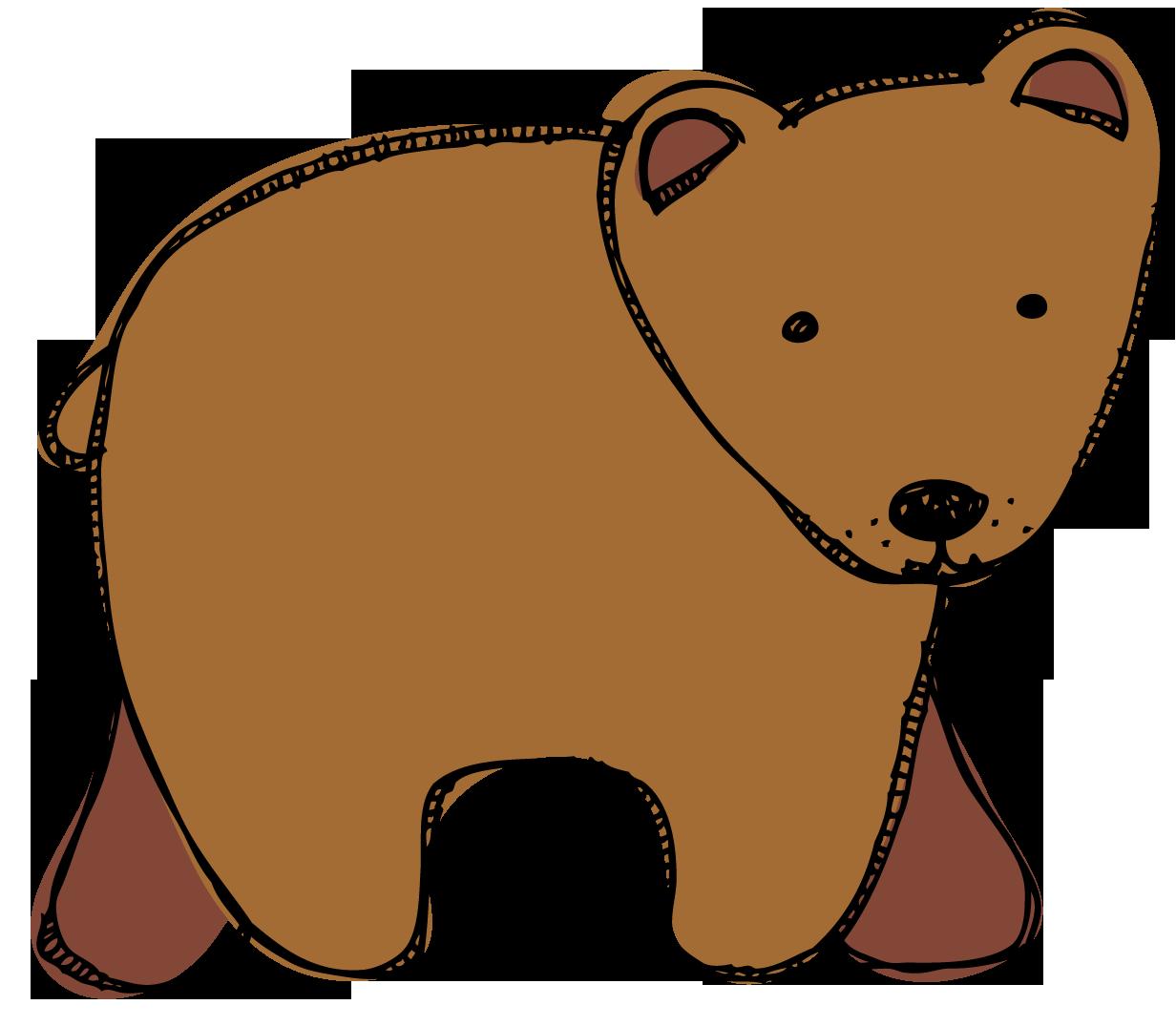 Brown bear brown bear clip art.