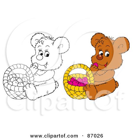 Royalty Free Stock Illustrations of Brown Bears by Alex Bannykh Page 1.