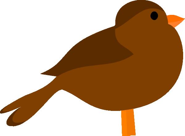 Brown Bird Clipart.