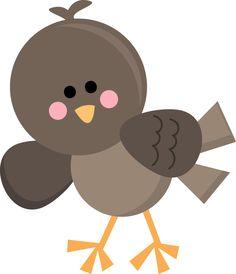 Bird clip art for kids.