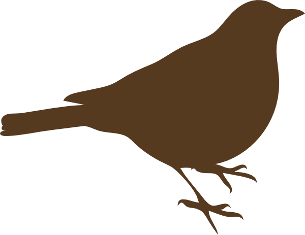 Brown Bird Clipart.