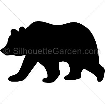 1000+ ideas about Bear Silhouette on Pinterest.