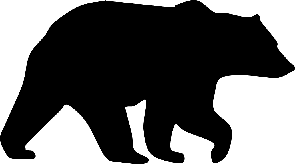 Brown black bear clipart - Clipground