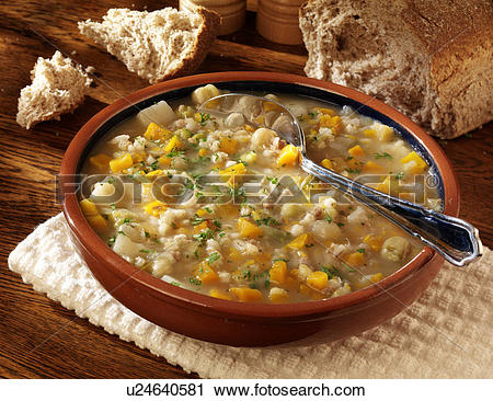 Stock Photography of Scotch Broth u24640581.