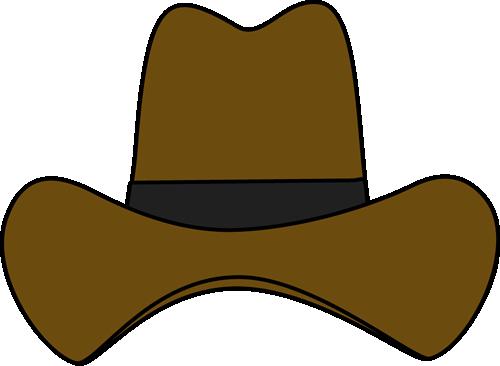 Cowboy cap clipart.