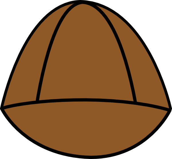 Plain Brown Hat Clip Art at Clker.com.
