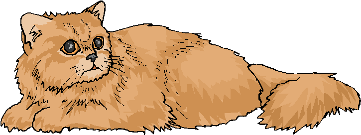 Brown Cat Clipart.