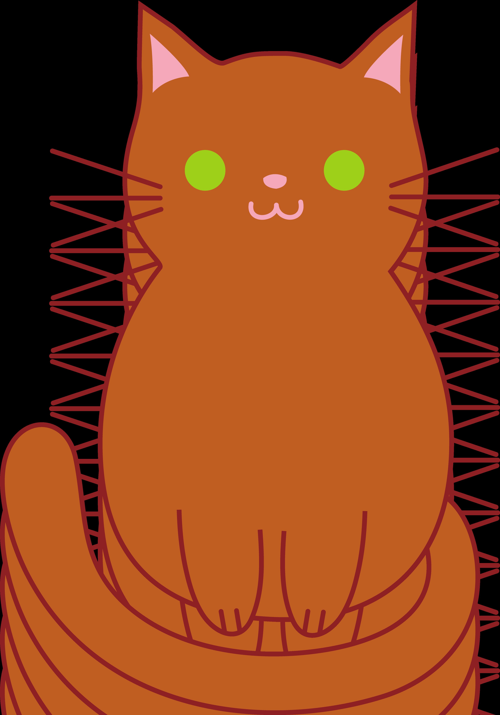 Cute Brown Cat.