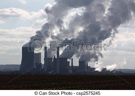 Stock Images of brown coal open mining csp2575245.